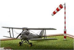 De Havilland DH-82A Tiger Moth (Kev Gregory (General)) Tags: de havilland dh82a tiger moth 172 scale plastic model biplane
