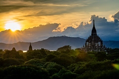 Discovering Bagan (bransch.photography) Tags: spectacular asian landscape asia amazing old burma myanmar religion pagoda travel shrine culture religious sunset historical sky beautiful stupa ancient stunning bagan architecture view buddhism buddhist temple traditional dusk