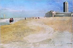 Sur la plage d'Ostende, Belgium (claude lina) Tags: claudelina belgium belgique belgië ostende mer sea plage beach merdunord noordzee sable cabine casino casinodostende