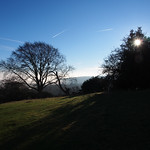 Bright sun blue sky thumbnail