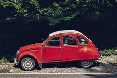 (el zopilote) Tags: 500 portland oregon wheels cars citroën 2cv cityscape street lumix gf1 milc m43 lumixg20mmf17asph panasonic20mmf17