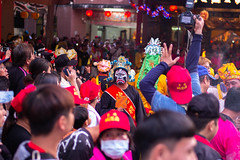 A Face in the Crowd (Michael Goldrei (microsketch)) Tags: 2018 central leicam mask street township 35mm photos west leica mp240 st grump typ240 crowd unhappy boat angry facepaint diva wang photo current pingtung mp paint face sad leicacamera grumpy asph mood yeh taoist 18 taoism festival tungkang documentary donggang urban leicamtyp240 typ 35 240 summilux photography leicalovers sour photographer 14 burning