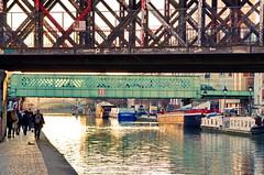 294 - Paris - Février 2019 - le long du Bassin de La Villette (paspog) Tags: paris france février februar february 2019 bassindelavillette canal kanal pont bridge brücke