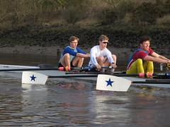 IMG_1130 (NUBCBlueStar) Tags: rowing remo rudern river aviron february march star university sunrise boat blue nubc sculling newcastle london canottaggio tyne hudson thames sweep eight pair