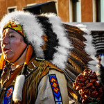 An American indian in Venice thumbnail