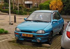 1992 Mazda 121 1.3i 16V LX (rvandermaar) Tags: 1992 mazda 121 13i 16v lx mazda121 autozam revue autozamrevue sidecode5 flzp99