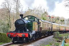 5526 - GWR 4575 Class 2-6-2 (Malcolm Bott) Tags: devon england britishisles railway transport 5526 unitedkingdom 4575 262