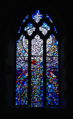 Stained Glass Window VIII (Dr Nigel) Tags: england yorkshire northyorkshire richmond samsung nx11 mirrorless church stmary stmaryschurch window stained glass stainedglasswindow