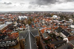 Zwolle on a cloudy day. (tomaszbaranowski007) Tags: view high trip city wideangle 1020 sigma d5500 nikon cloudy nederland holland zwolle