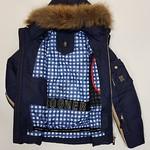 Горнолыжная мужская куртка Bogner 6818 -35 °C (темно синий) пуховик thumbnail