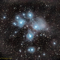 M45 Les Pléiades (philippeoros) Tags: astrometrydotnet:id=nova3185278 astrometrydotnet:status=solved