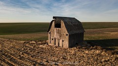 For All To See (Chris Lakoduk) Tags: abandoned barn batum washington drone photography landscape old derelict alone isolated