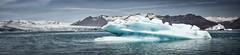 Iceland (a.penny) Tags: iceland island apenny bleach bypass nikon d7100 glacier gletscher eisberg iceberg lake jökulsárlón panorama