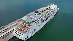 pm1jp (DroneImagine Nation) Tags: hdrinstant cruiseship ship coastal coastline port melbourne victoria australia