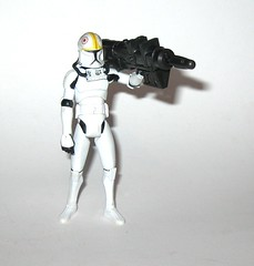 clone pilot oddball no. 11 star wars the clone wars basic action figures blue white card 2008 hasbro 2i (tjparkside) Tags: clone pilot oddball cw14 cw 14 star wars blue black card packaging galactic battle game display base stand collector basic action figure figures hasbro 2010 helmet blaster blasters missile projectile launcher cannon rocket launching v19 torrent starfighter arc170 fighters fighter republic