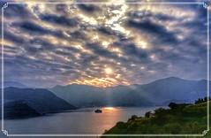 Lago d'Iseo isola San Paolo (Claudio T1) Tags: thebestofday tramonti tramonto colori colors colorphotoaward cloudswirl color cielo lombardia lago italia italy iseo wordpress foto natura nuvole immagini