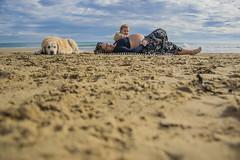 Fotos para Esther #22 (Héctor Rodríguez Maciá) Tags: sanjuan alicante españa spain playa mar costa arena mediterráneo embarazo embarazada perro