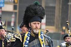 Second Street Irish Society drum major