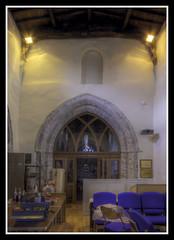 Tower Arch (veggiesosage) Tags: stmaryschurch eastleake church historicchurch nottinghamshire normanchurch gx20 grade1listed hdr aficionados