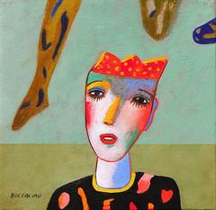 """PRINCE KIKO"" (Boccacino) Tags: prince art painting jeanboccacino 500x500 square canvas"