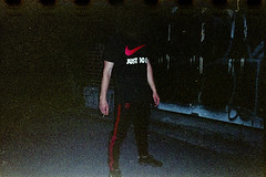 (Just A Stray Cat) Tags: kodak farbwelt 800 expired grain nike vapormax just do it swoosh calabasas adidas montreal le plateau quebec canada olympus mju ii mjuii stylus epic film 35 35mm mm analog analogue