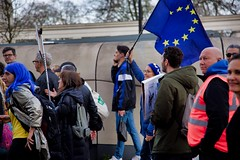 The People's Vote March - 23 March 2019 (tonyd1947) Tags: canonef24105mmf4lis london peoplesvote westminster parliament hydeparkcorner parklanelondon parklane people banners laugh fun carnival fairness eu europeanunion downwithbrexit brexit division divided hat hats flag flags remain bollockstobrexit may theresamay 23march2019 2019 march marching unity placard placards
