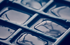 ICY COLD... MM (Ayeshadows) Tags: ice macro mondays cold blue icemaker freeze frozen