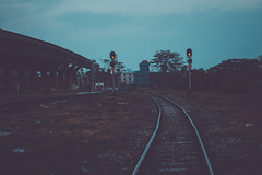 W A Y (Sumnath Das Biraz) Tags: railway afternoon canon 77d lightroom lightroomedit color shadow streetphotography smugmug streetdreamsmag streetleaks nature endoftheday