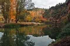 Reflejos de otoño (ajmtster) Tags: paisaje landscape bierge sierradeguara saltodebierge otoño rioalcanadre rio river alcanadre amt sundaylights