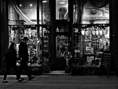 The 'Olive Tree', Liverpool (ronramstew) Tags: liverpool merseyside shop olivetree bw blackandwhite people exterior renshawstreet