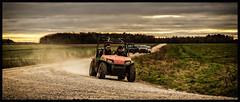 Bingo and Fleegle on the move (Redheadwondering) Tags: sonyα7ii landscape salisburyplain wiltshire sigma sigma2470lens byway 26comical 26 comical buggy vehicle thebananasplits 119picturesin2019