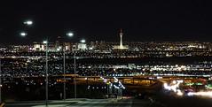 Las Vegas Night Shot_01 (brucekester@sbcglobal.net) Tags: lasvegas night henderson nevada skyline stratosphere