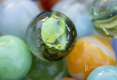 glass vintage marbles (Karen Juliano) Tags: round glass vintage toy game marble sphere bubbles inclusions