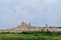 Mdina (Douguerreotype) Tags: cathedral church fort historic buildings cityscape city malta architecture landscape