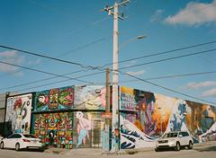 Wynwood Walls (Jason Mayers) Tags: miami florida wynwoodwalls fujiga645 portra400nc mediumformat travel streetphotography graffiti art