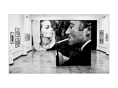 Expo (philippeprovost1) Tags: museum musée charleroi photo monochrome cigarette