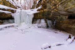 Canyon Icefalls (Tom Gill.) Tags: ice frozen winter snow canyon illinois waterfall icefall matthiessen statepark frozenwaterfall