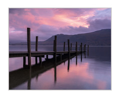 High Brandlehow Jetty, Derwent Water, Lakes (Sean D H Lewis) Tags: sunrise derwent lakedistrict cumbria highbrandlehow pier jetty lake