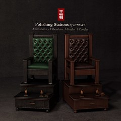 DYNASTY - Polishing Stations for SULTRY (Jin Zhu / DYNASTY) Tags: dynasty shoeshine polish