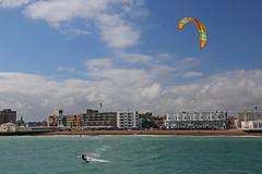2018_08_15_0043 (EJ Bergin) Tags: sussex westsussex worthing beach seaside westworthing sea waves watersports kitesurfing kitesurfer seafront lewiscrathern jezjones