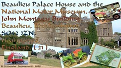 National Motor Museum and Palace House,  Beaulieu, Brockenhurst SO42 7ZN. Hampshire, England.  ( 21 )
