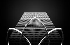 Embarcadero (Dan Portch) Tags: embarcadero san francisco mono monochrome fine art architecture building sky skyscraper contrast high contemporary black white bw dark moody long exposure