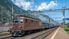 BLS Re 4'4 177 Erstfeld 16 July 2015 (BaggieWeave) Tags: switzerland swiss swissrailways swisstrains erstfeld gotthardrailway gotthard gotthardbahn sbb cff ffs bls re44