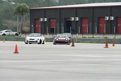 Tandem (Find The Apex) Tags: nolamotorsportspark nodrft drifting drift cars automotive automotivephotography nikon d800 nikond800 nissan 240sx nissan240sx s13 tandemdrift tandem tandemdrifting tandembattle