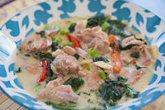 Chicken in Coconut Milk (ChrisN02) Tags: lasvegas nevada chickenincoconutmilk coco coconutmilk pepperleaves peppers redbellpeppers food asianfood filipinofood pinoyfood delicious cuisine filipinocuisine lunch boneless unitedstates