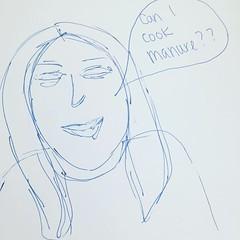 Jen playing Don't Starve (SouthernSistersGaming) Tags: jen portrait manure dontstarve fanart