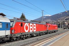 ÖBB 1293 021-2 und 1116 134-7 Stromabnehmerschaden, Matrei am Brenner (michaelgoll777) Tags: öbb taurus 1116 vectron 1293