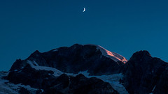 Trabant (Sophia Drosophila) Tags: alpen berge erosion geographie landschaft natur schweiz suisse switzerland wandern wildnis alps landscape nature petitcombin mond dämmerung valdebagnes