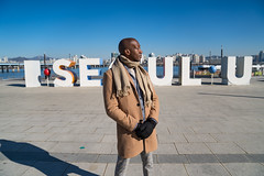 Dapper Man in Seoul Part 25 (Dapper Man) Tags: dapper dapperman gentleman gq seoul korea southkorea iseoulu metropolitan city streetstyle fashion winterfashion model koreafashion trenchcoat scarf cardigan turtleneck sweater trousers pants plaid loafers horsebitloafers horsebit gucciloafers shades hm seoullife bald baldgang baldhead