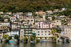 Houses at Gandria, Lake Lugano, Switzerland (1daveclarke) Tags: gandria lugano lake switzerland houses hillside